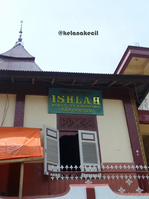 Masjid kuno Minangkabau di Pariangan