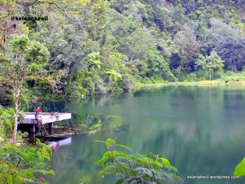 Salah satu sudut danau Ranamese