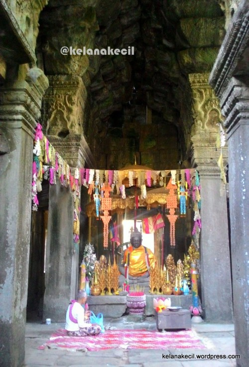 Altar Buddha di Banteay Kdei