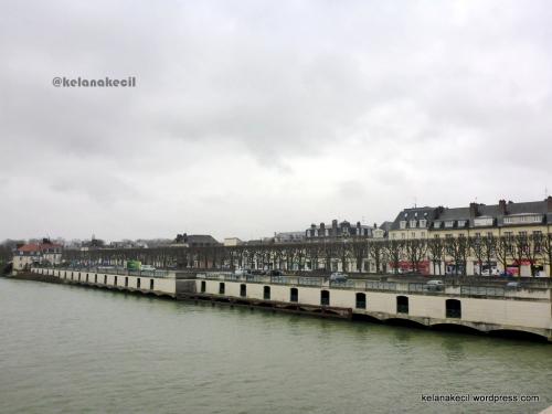 Sungai oise di kota Compiegne